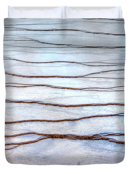 Duvet Cover featuring the photograph Gradations by David Andersen