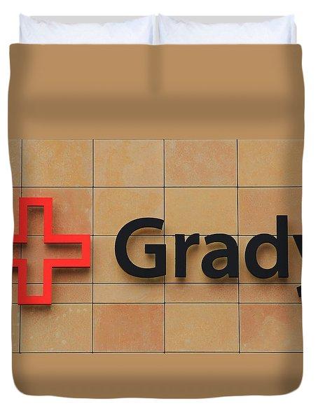 Grady Hospital Atlanta Georgia Art Duvet Cover