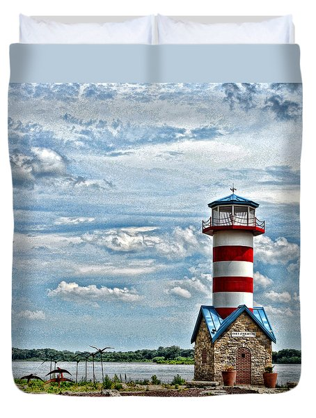 Grafton Lighthouse Duvet Cover