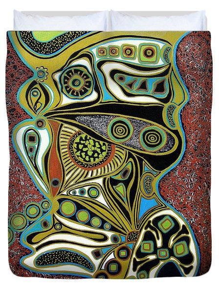 Grain De Folie.. Duvet Cover by Jolanta Anna Karolska