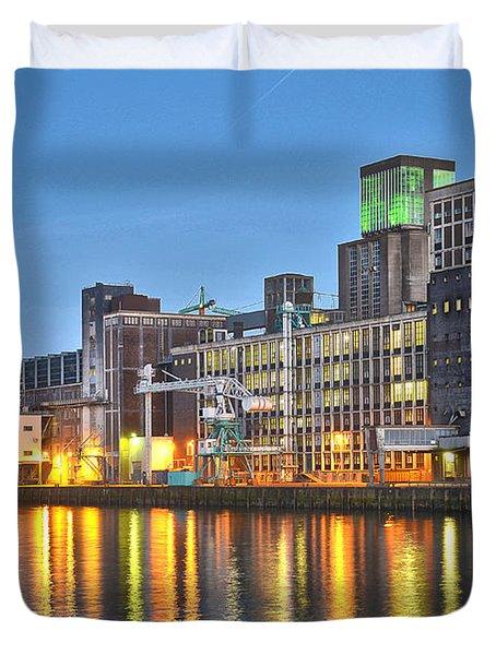 Grain Silo Rotterdam Duvet Cover