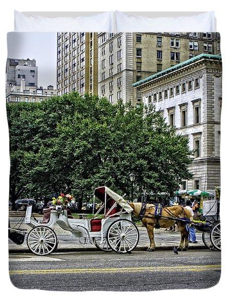 Grand Army Plaza - Manhattan Duvet Cover by Madeline Ellis
