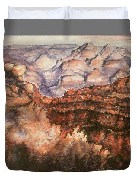 Grand Canyon Arizona - Landscape Art Painting Duvet Cover