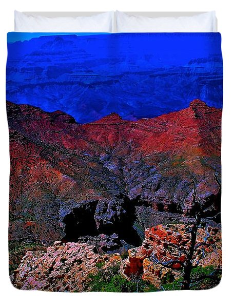 Grand Canyon Beauty Exposed Duvet Cover by Jim Hogg