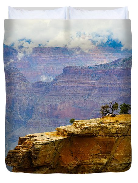 Grand Canyon Clearing Storm Duvet Cover
