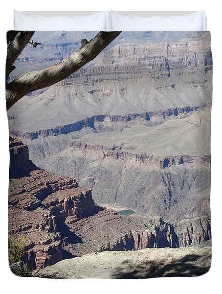 Duvet Cover featuring the photograph Grand Canyon by David S Reynolds