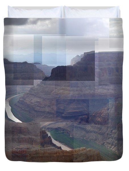 Grand Canyon Guano Point Duvet Cover