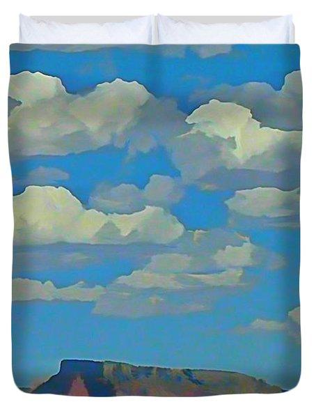 Grand Canyon Horizon Duvet Cover by John Malone
