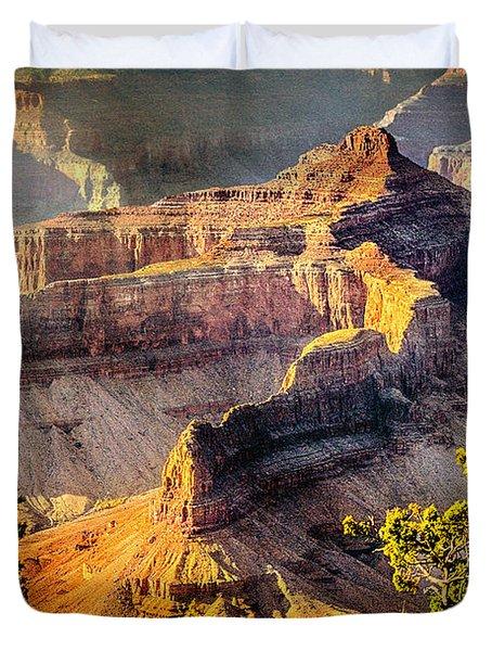 Grand Canyon National Park Duvet Cover by Bob and Nadine Johnston