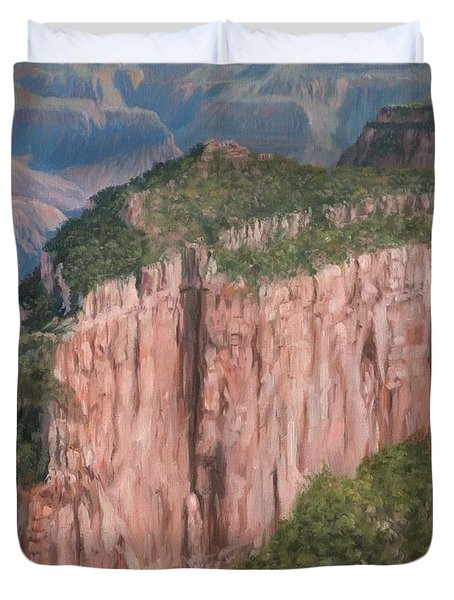 Grand Canyon North Rim Duvet Cover