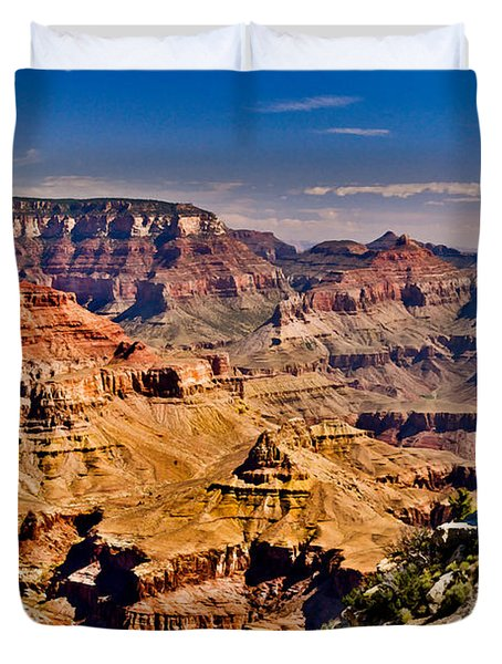Grand Canyon Painting Duvet Cover
