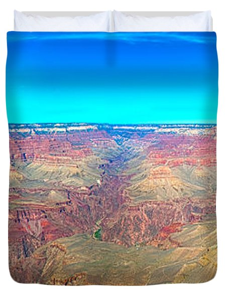 Grand Canyon Panorama Duvet Cover