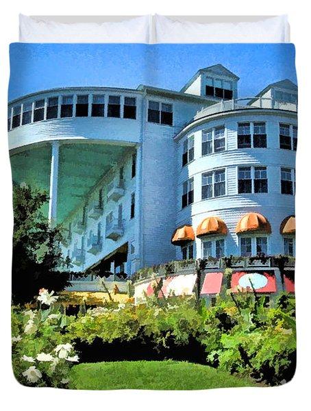 Grand Hotel - Image 002 Duvet Cover