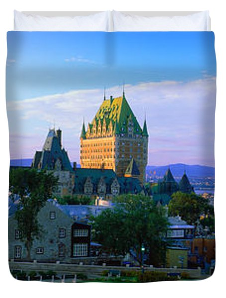 Grand Hotel In A City, Chateau Duvet Cover