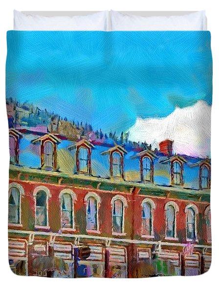 Grand Imperial Hotel Duvet Cover by Jeff Kolker