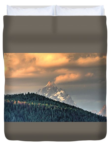 Grand Morning Duvet Cover