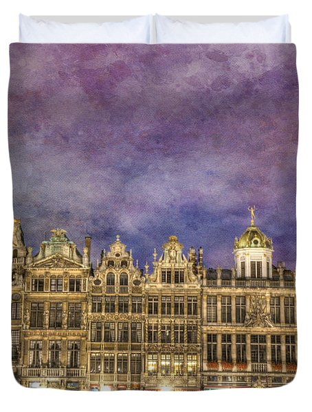 Grand Place Duvet Cover by Juli Scalzi