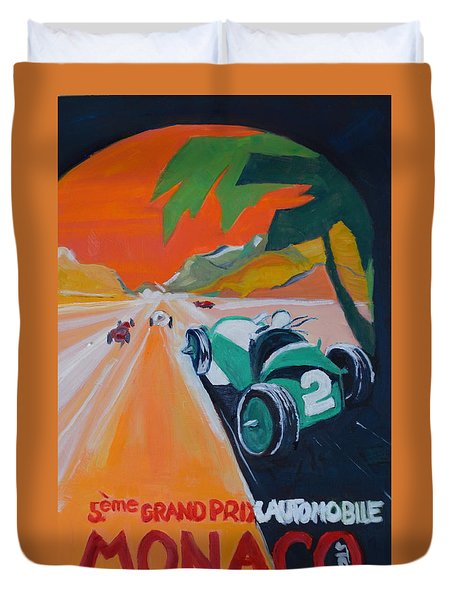 Grand Prix Duvet Cover