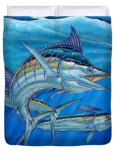 Grand Slam And Lure. Duvet Cover by Terry Fox