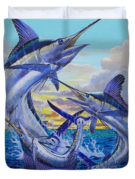 Grand Slam Off0016 Duvet Cover by Carey Chen