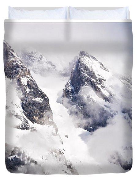 Grand Teton Glacier Duvet Cover