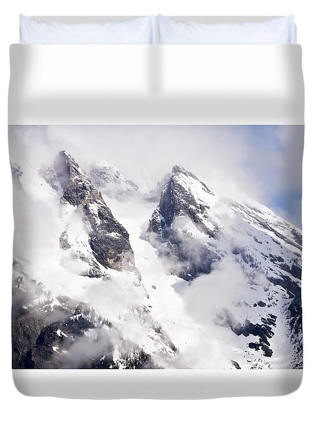 Grand Teton Glacier Duvet Cover