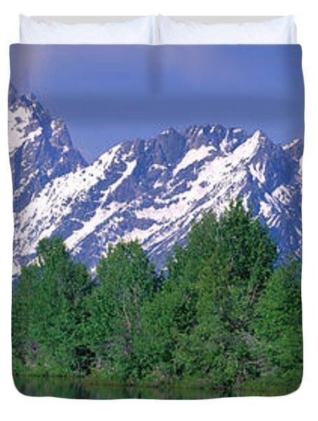 Grand Tetons National Park Wy Duvet Cover