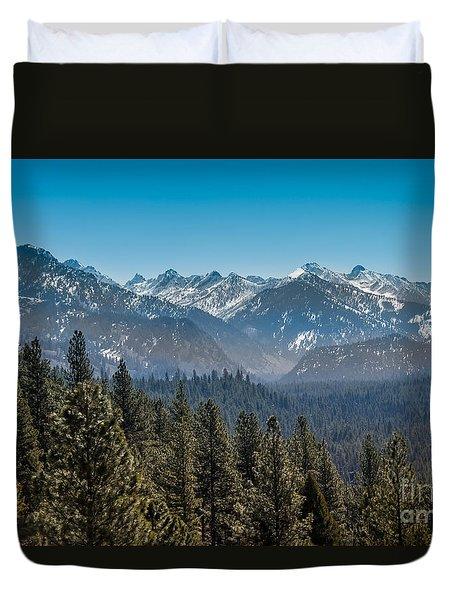 Grandjean Valley Duvet Cover by Robert Bales