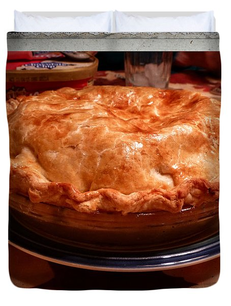 Grandma's Best Apple Pie Duvet Cover
