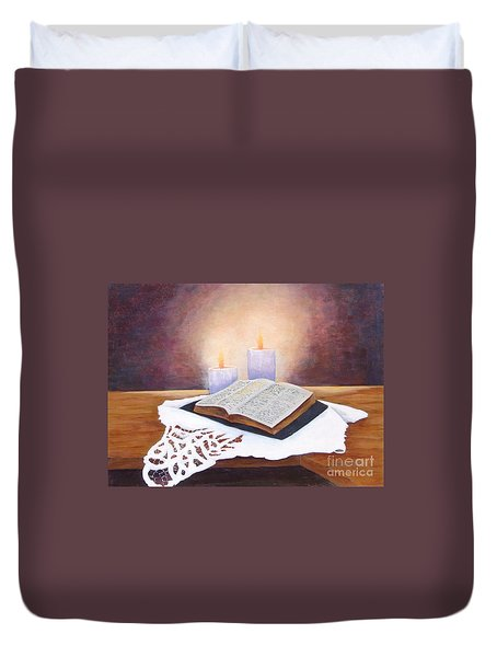 Grandma's Bible Duvet Cover