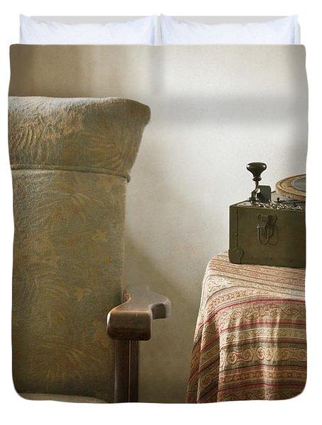Grandma's Chair Duvet Cover by Margie Hurwich