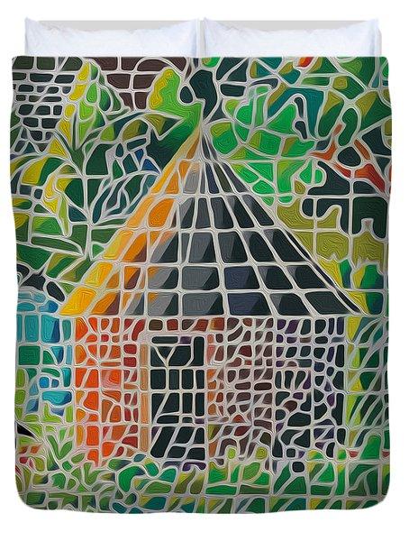 Grandma's House Duvet Cover by Anthony Mwangi