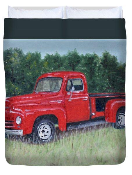 Grandpa's Truck Duvet Cover