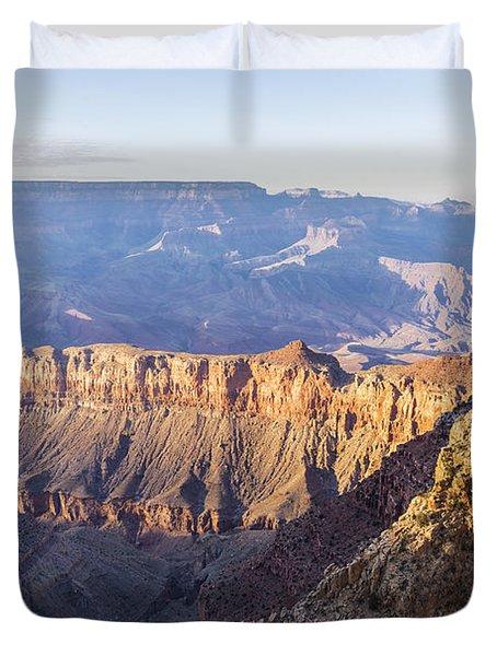 Grandview Sunset 2 - Grand Canyon National Park - Arizona Duvet Cover by Brian Harig