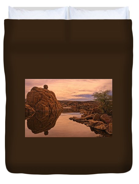 Granite Dells Duvet Cover by Priscilla Burgers