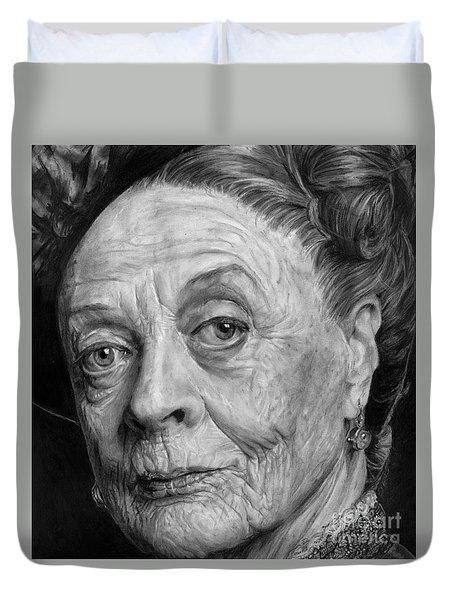 Grannies 12#05. Maggie Smith Duvet Cover