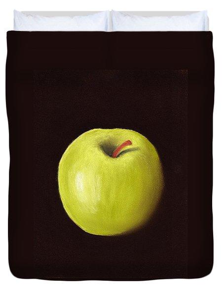 Granny Smith Apple Duvet Cover by Anastasiya Malakhova