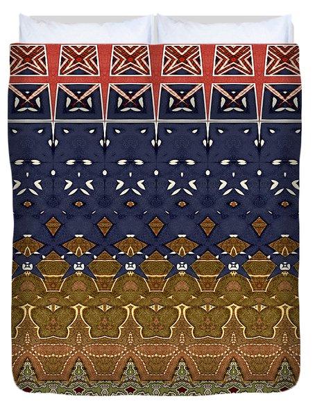 Granny's Quilt Duvet Cover by Susan Leggett