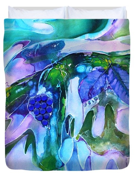 Grapevine Twist Duvet Cover by Pat Purdy