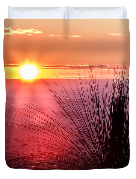 Grasstree Sunset Duvet Cover
