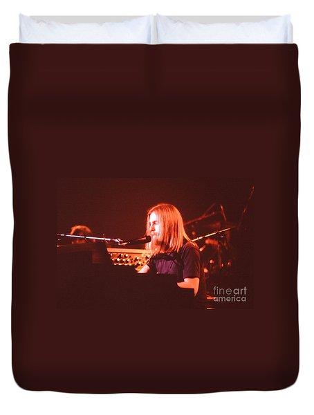 Grateful Dead Concert - Brent Mydland Duvet Cover