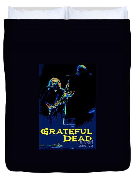 Grateful Dead - In Concert Duvet Cover
