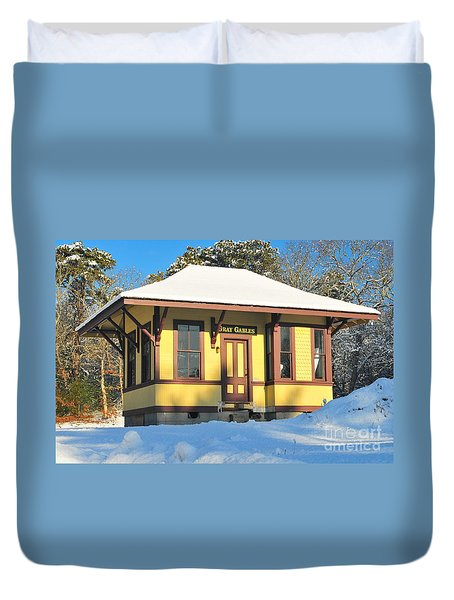 Gray Gables  Duvet Cover by Catherine Reusch Daley