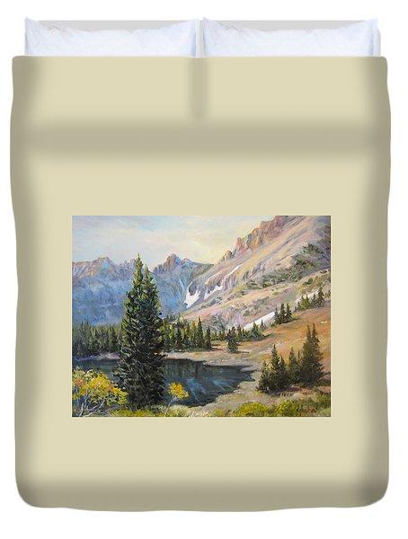 Great Basin Nevada Duvet Cover by Donna Tucker