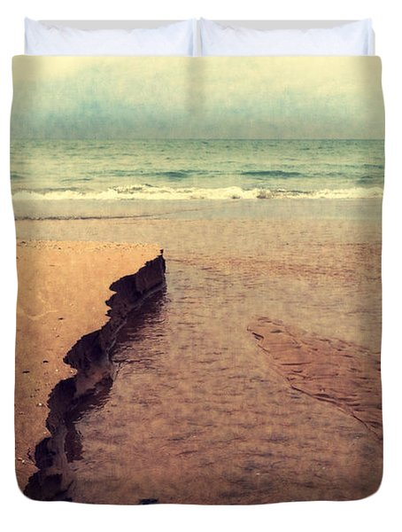 Great Lakes Great Times Duvet Cover by Michelle Calkins