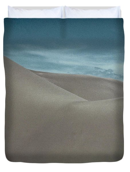 Duvet Cover featuring the photograph Great Sand Dunes by Don Schwartz