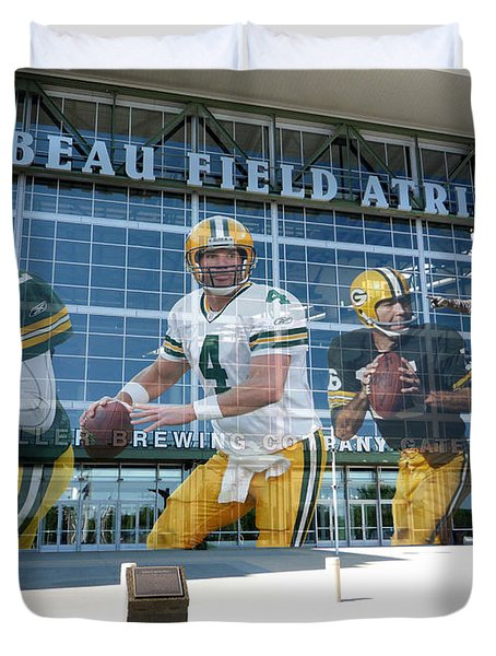 Green Bay Packers Lambeau Field Duvet Cover