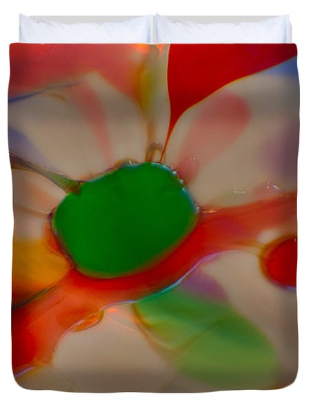 Green Butterfly Duvet Cover by Omaste Witkowski