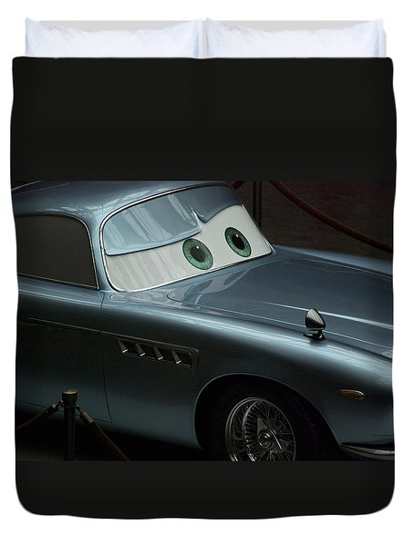Green Eyed Finn Mcmissile Duvet Cover by Thomas Woolworth