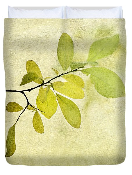 Green Foliage Series Duvet Cover